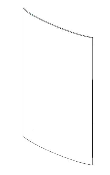 Door Glass Contura 800 Stoves