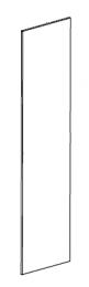 Contura 850, 860, 880 Side Glass