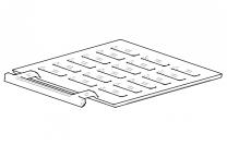Contura/Handol 30 Sliding Grate