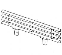 Contura/Handol 30 Front Grate Fire Bars
