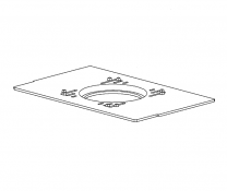 Intermediate Grate Frame - Morso 08