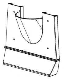Inner Back Plate - Morso Panther 2140 & 1809