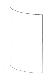 Contura 500 / 500 Style Door Glass
