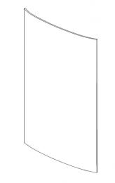 Contura 800 Door Glass