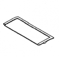 Baffle Access Plate - Morso Dove 1631