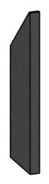 Right Side Brick - Morso S10 - 57100200-R