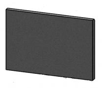 Rear Brick - Morso S10 - 57100300