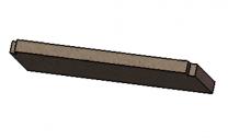 Upper Baffle Brick - Morso S50 - 57500000