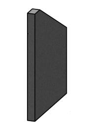 Left Side Brick - Morso S80 - 57800200