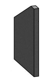 Right Side Brick - Morso S80 - 57800200-R