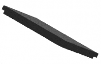 Baffle Brick - Morso S81