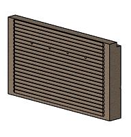 Rear Bottom Fire Brick - Morso Squirrel 1416/1416 - 79140200
