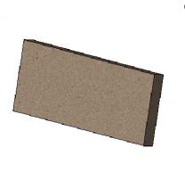 Vertical Baffle Brick - Morso 5660 Insert- 79560700