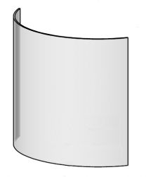 Replacement Door Glass - Morso 7600