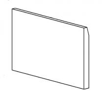 Rear Brick - Morso 8100 - 79810200
