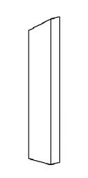 Right Side Brick - Morso 8180 - 79811900-R