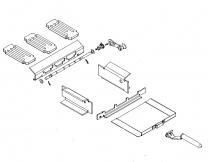 Multifuel Grate Kit Spares - Charnwood C-Six