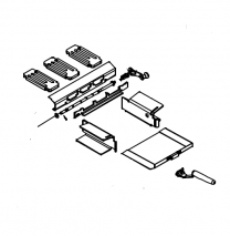 Multifuel Grate Kit Spares - Charnwood C-Eight