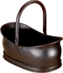 All Black Astley Coal Bucket
