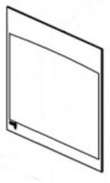Replacement Door Glass - Yeoman CL7