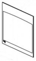 Replacement Door Glass - Yeoman CL8