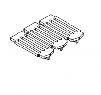Grate Plate - Country 8 WB Mk2 & Country 12 WB Mk2