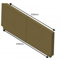 Rear Brick (Wood) Mk2 - Hunter Herald 8 Dry