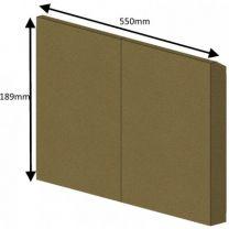 Rear Brick (Wood) CE/CEVII - Hunter Herald 8 Dry