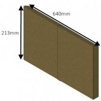 Rear Brick (Wood) CEVII - Hunter Herald 14 Dry