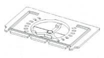 Grate Base Plate - Huntingdon 28