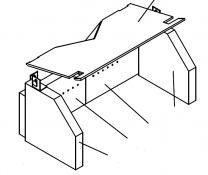 Firebrick Liner Set - Charnwood Island 1