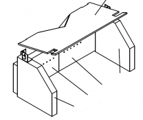 Firebrick Liner Set - Charnwood Island 1 (ay)