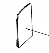 AGA Stretton Right Hand Side Plate