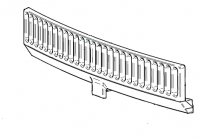 Contura/Handol 50 Front Grate Fire Bars