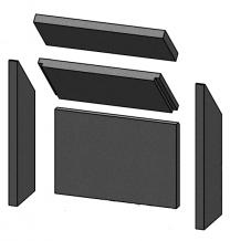 Complete Brick Set - Morso S10  -57103500