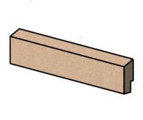 Top Rear Brick - Morso S11 - 57110200