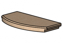 Front Baffle Brick - Morso S11-57110400