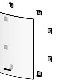 Glass Clip Set - Morso S11