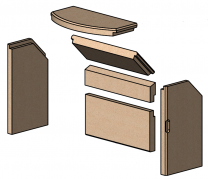 Complete Brick Set - Morso S11