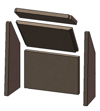 Complete Brick Set - Morso S50 - 57503500