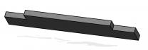 Upper Baffle Brick - Morso S80 - 57800000