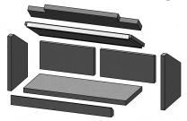 Complete Brick Set - Morso S80