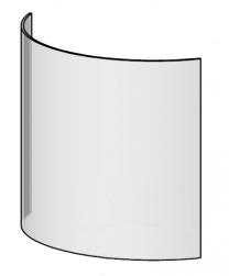 Replacement Door Glass - Morso 7600