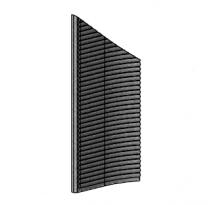 Left Side Brick - Morso 7600 - 79760400