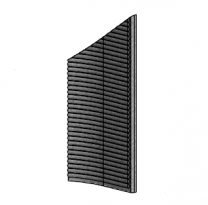 Right Side Brick - Morso 7600 - 79760300