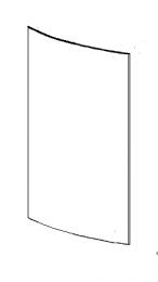 Replacement Door Glass - Morso 8100