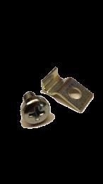 Glass Clip & Screw Set - Stovax Brunel (All)