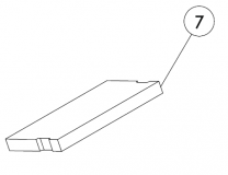 Charnwood C-Four Blu Brick Throat Plate