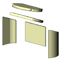 Morso 6100 Complete Brick set