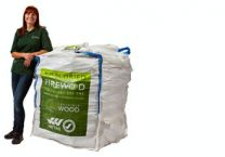 Certainly Wood 1.2m Small Bulk Bag Kiln Dried Logs